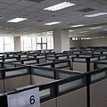 辦公室也都有partition,這是七樓人的夢~