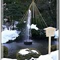 兼六園內,全日本第一座噴泉