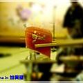 金箔生魚片