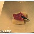 白蘆筍黑鮪魚佐奶油鯷魚味噌醬汁