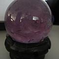 超透的紫水晶球