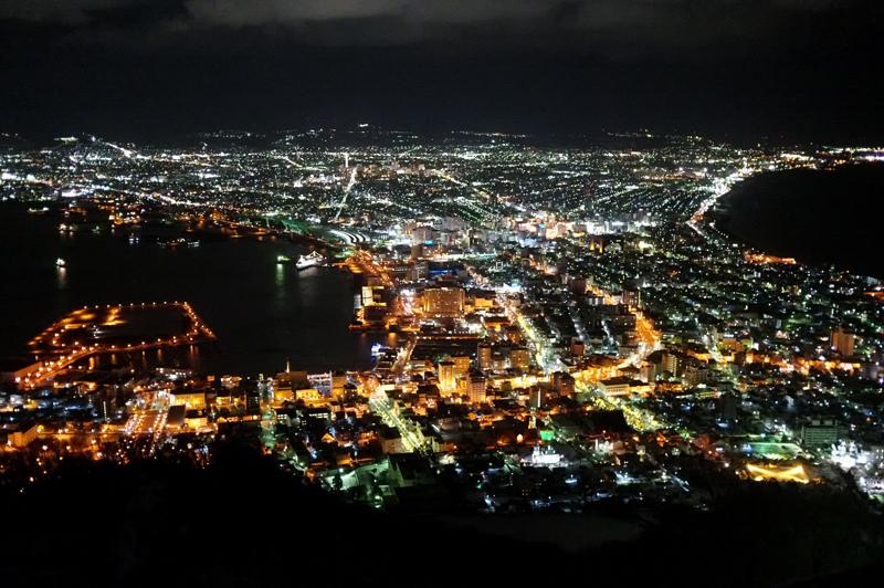 函館山纜車夜景