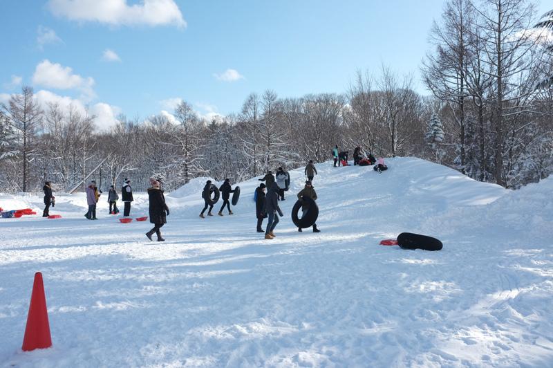 北海道玩雪
