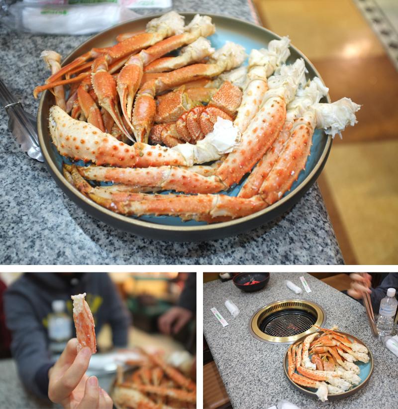 北海道帝王蟹吃到飽