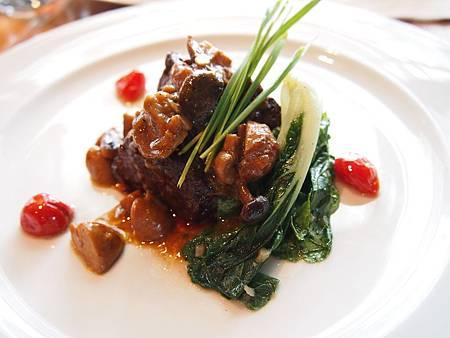 紐西蘭蘑菇牛排
