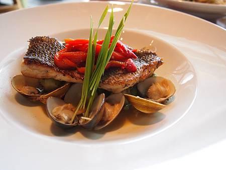 蛤蜊鯛魚片