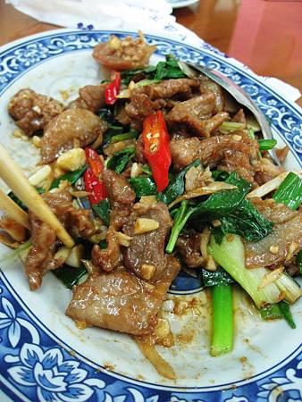 藍藍餐廳 炒山豬肉
