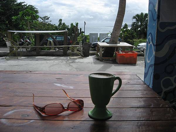 下午的咖啡