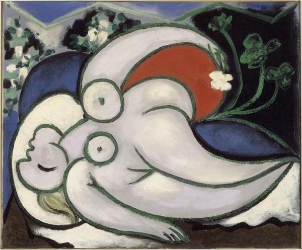 Picasso躺著的女人.jpg