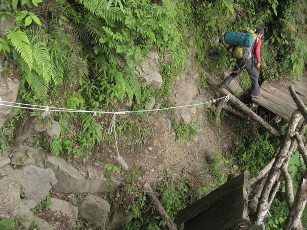 這個懸崖挺危險