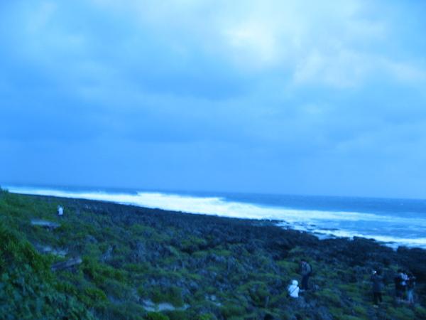 2009年一月一日日出天氣陰