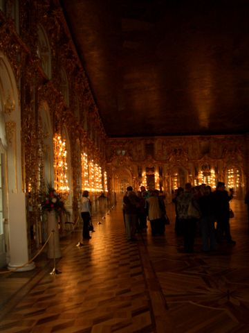 The hall of catherine palace