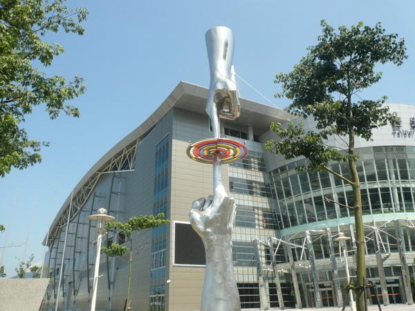 南港展覽館 造型