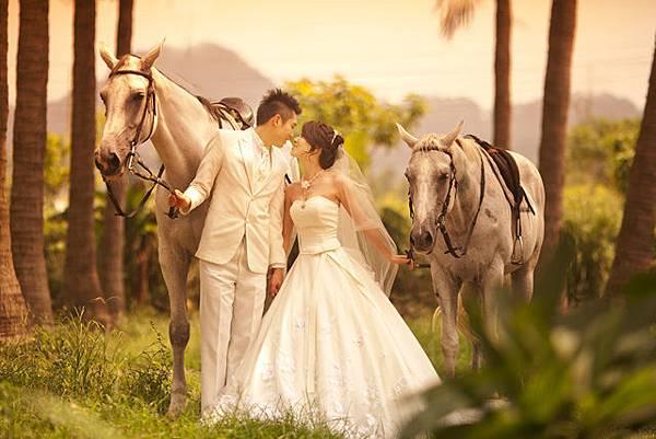 高雄韓風婚紗攝影風格推薦-白馬王子和公主