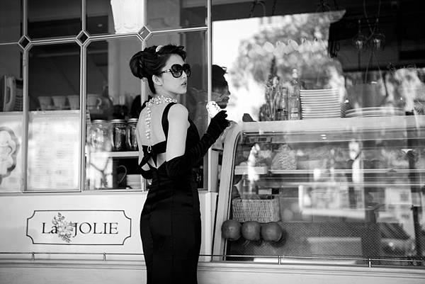 高雄自助婚紗攝影作品-奧黛麗·赫本風