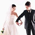 高雄自助婚紗攝影作品:白色婚禮