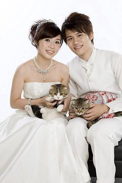 自助婚紗 | 喵星人 | 寵物婚紗 | 貓咪婚紗攝影|推薦