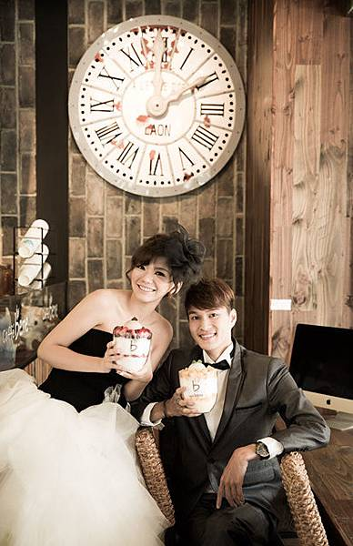 簡單,溫馨,精緻的韓風婚紗風格