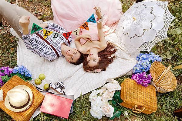 韓風婚紗大作戰網路自助婚紗新人最喜歡:)