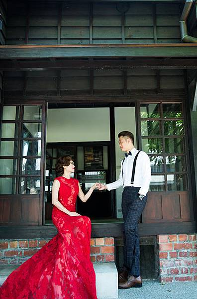 高雄屏東復古婚紗新人推薦:阿明小玲