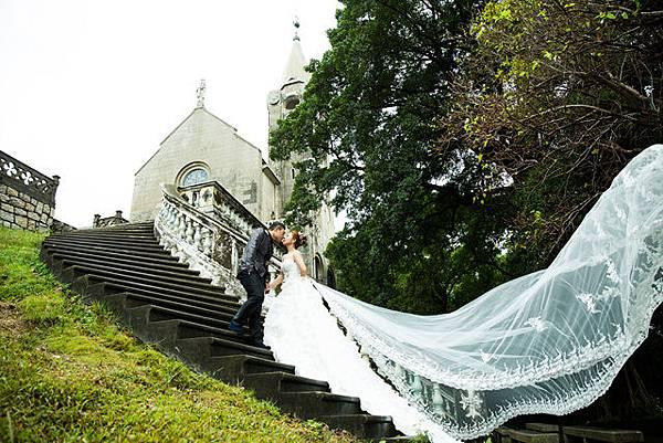 高雄自助婚紗工作室:香港澳門自助婚紗推薦