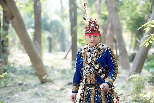 屏東原住民婚紗新人:排灣族頭目%26;布農族公主