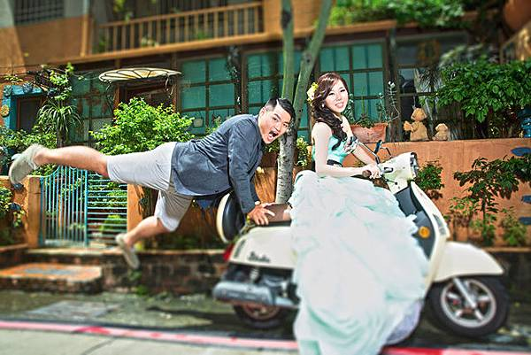 高雄婚紗風格推薦:HAPPY時光