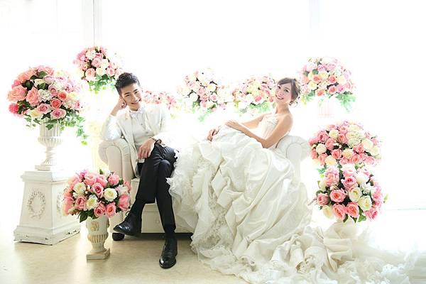 高雄韓風婚紗:真心情人