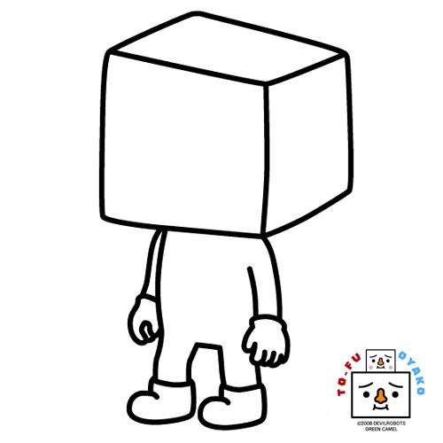 空白豆腐人