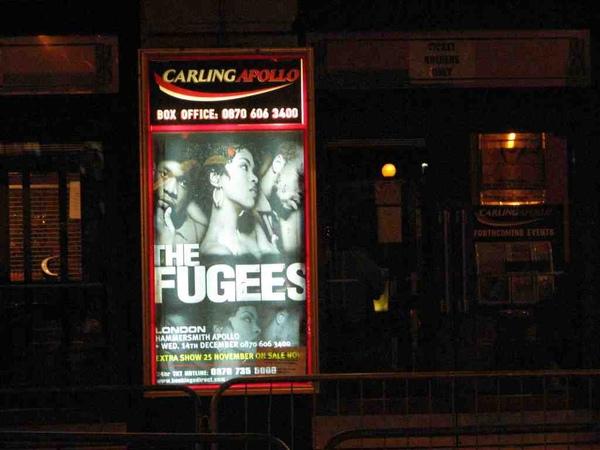 建偉在英國的Fugees照
