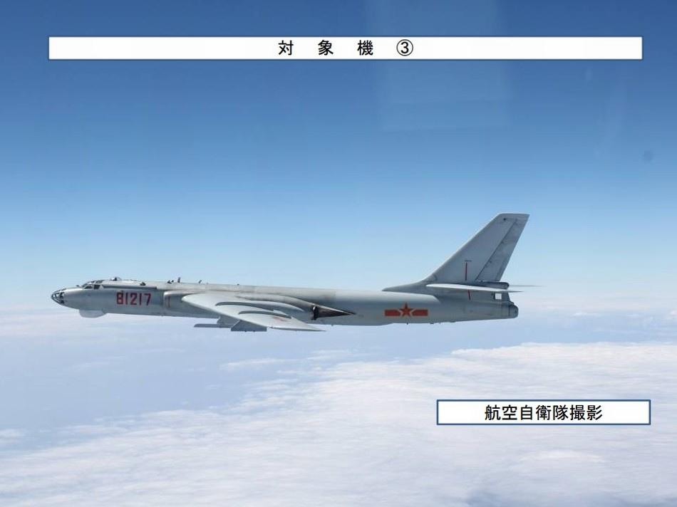 共軍運8轟6連續3天穿越日本島鏈