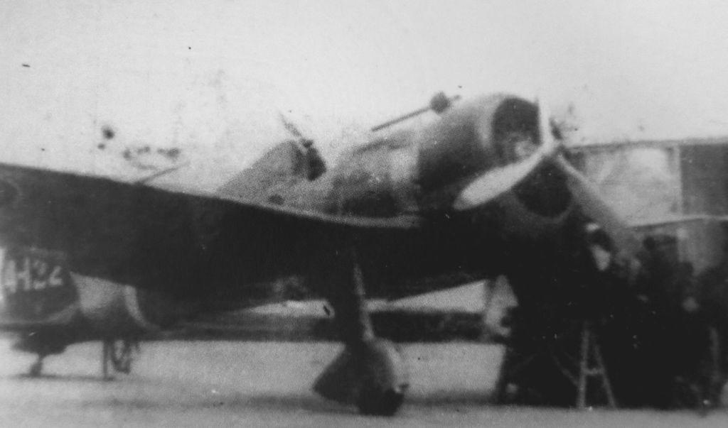 國軍於二次大戰期間擄獲之日本海軍九六式艦上戰鬥機