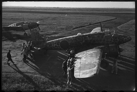 Changchun China Sep 7 1945 Ki-54 captured by Soviet troops.jpg