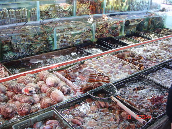西貢的海鮮