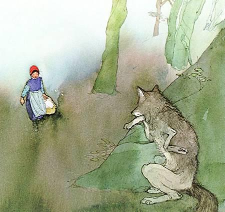 Lisbeth Zwerger-wolf01