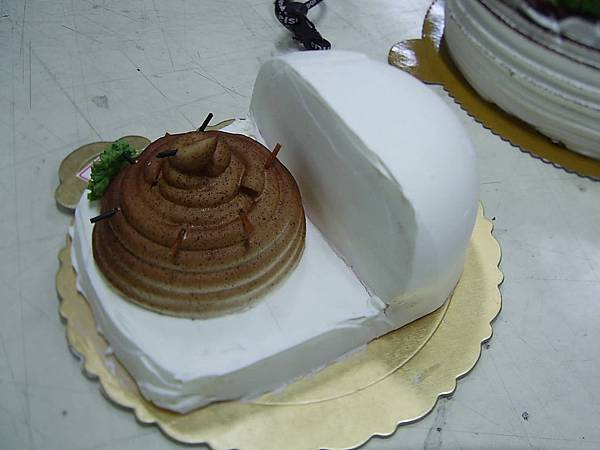 栩生日的蛋糕(笑)