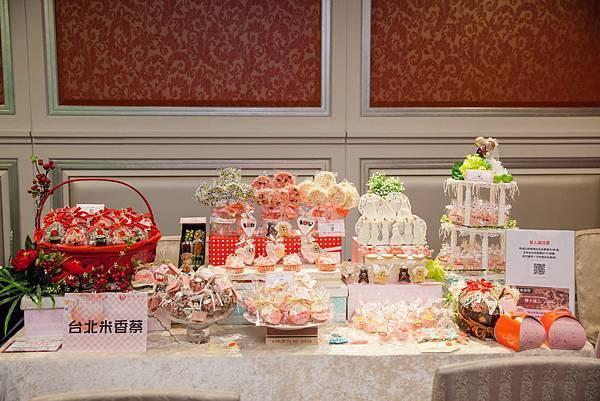 婚禮廠商提供豐厚的優惠給予參與雅悅會館婚體日的準新人們