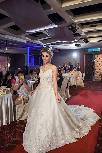 新娘婚紗禮服造型走秀