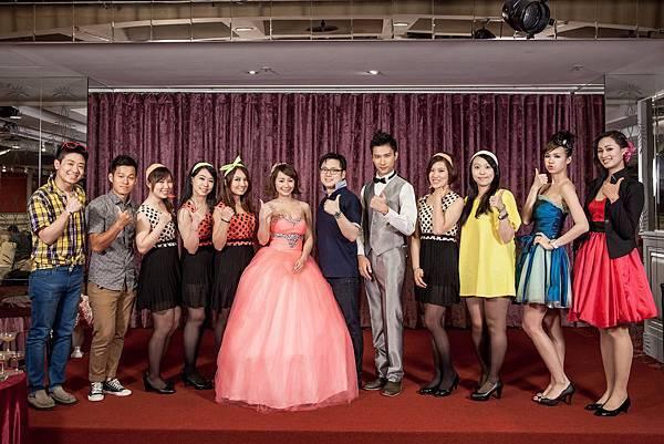 「幸福御守團」是專屬於新人御用的婚宴企劃團隊