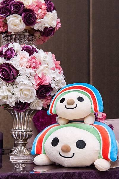 充滿著驚喜的婚禮體驗日從婚禮佈置就讓準新人們熱愛不已!