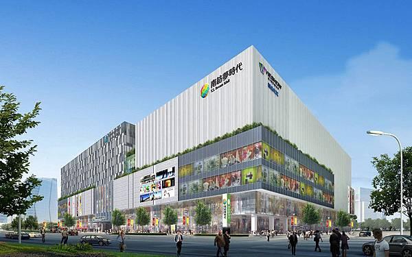 南紡購物中心外觀