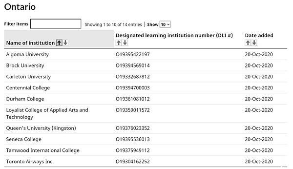 Inked加拿大留學生豁免入境院校名單出爐!留學生可以入境了!(持續更新) 10_LI
