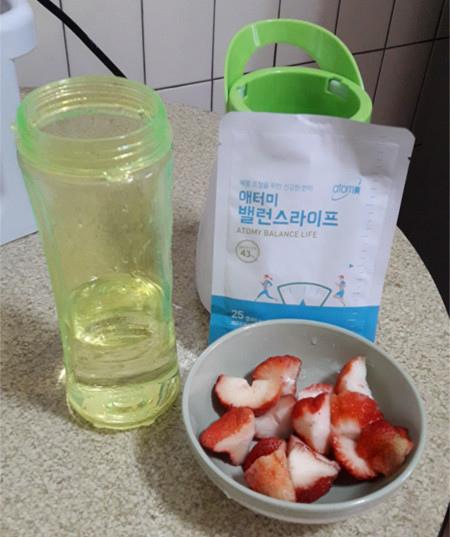 艾多美 穀物飲 草莓1