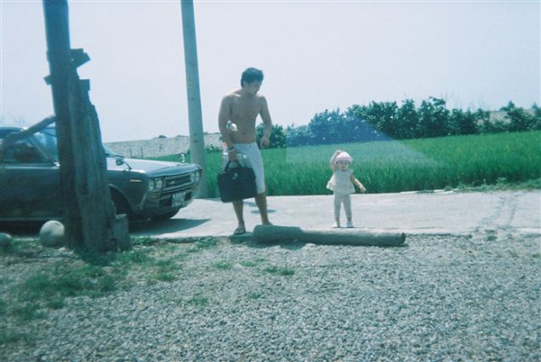 surfer & his little girl