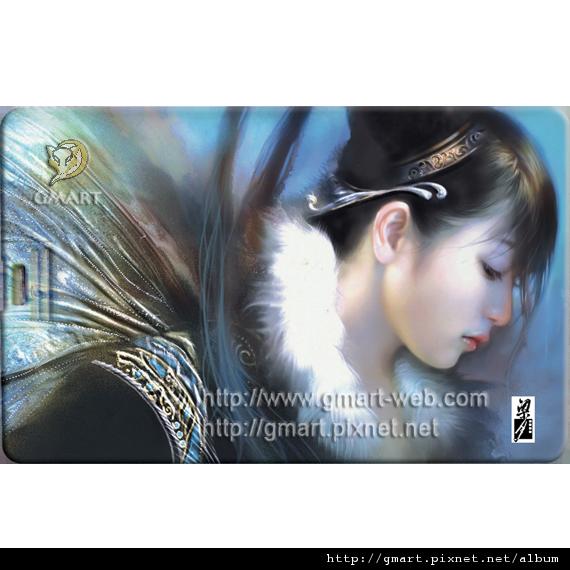 魅之繪技 - 梁月名片碟015 聖潔