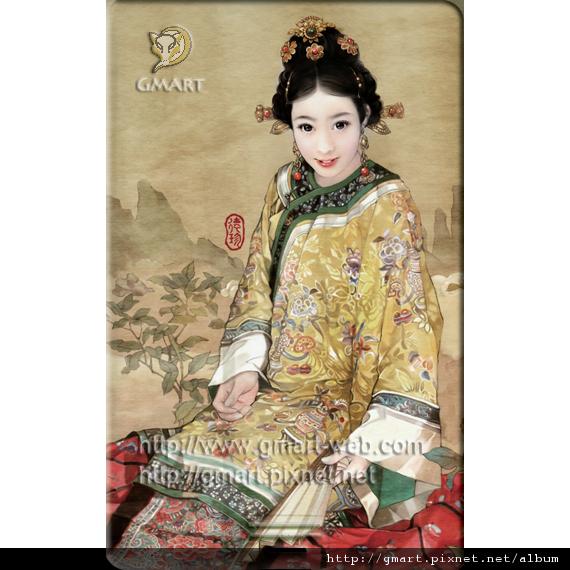 仕女系列 - 德珍名片碟039 漢族