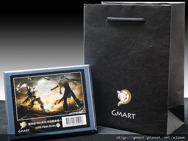 Gmart金脈- 張裕劼典藏隨身碟外盒與包裝(含黑色提袋)