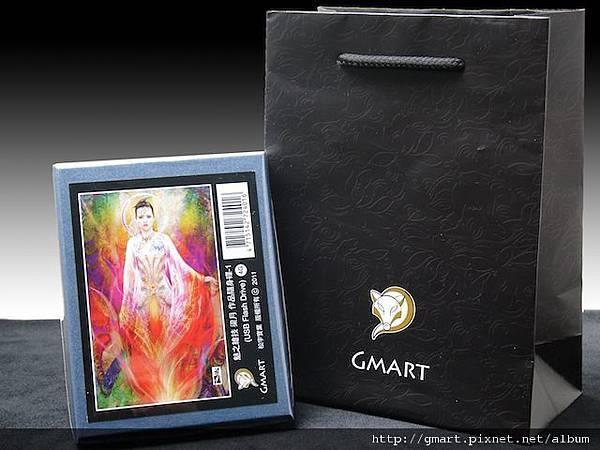 Gmart金脈- 梁月典藏隨身碟外盒與包裝(含黑色提袋)