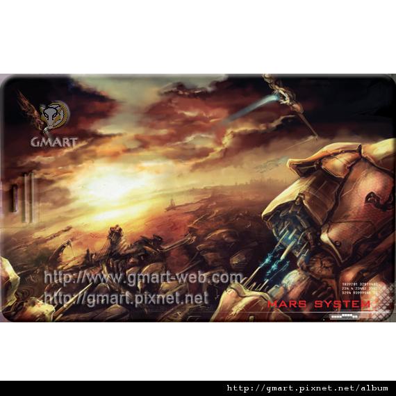 科幻插畫家 - 張裕劼名片碟004 Mars system