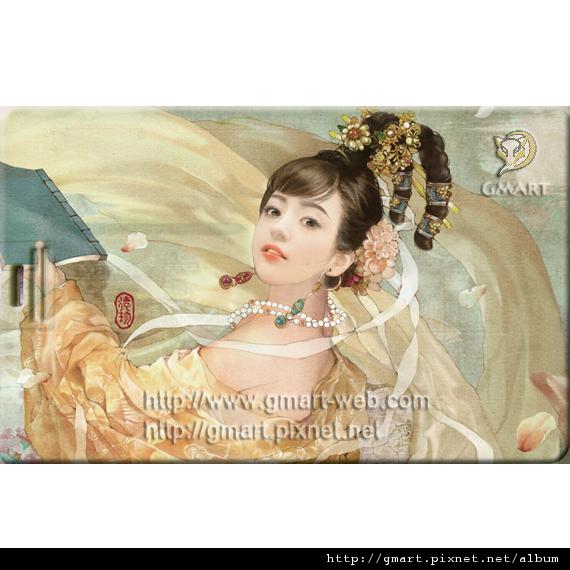 仕女系列 - 德珍名片碟003 紅樓金釵1
